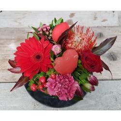 Valentijn bloementaart middel