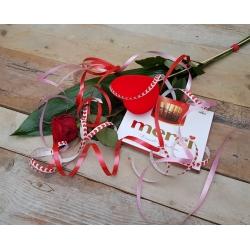 Valentijn roos & Merci